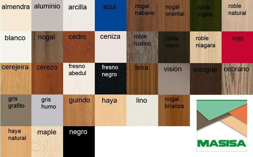 Melamina Colores Vrios 18mm 1ra Cdad S/aglo-15 Cortes Gratis