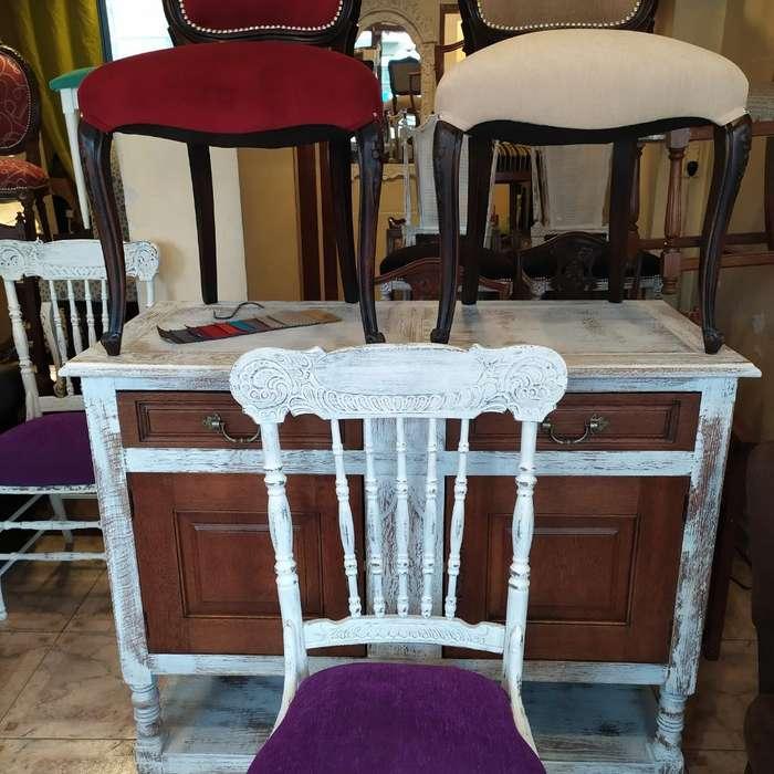 Vendo muchas <strong>sillas</strong> Restauradas / 2500 C/una