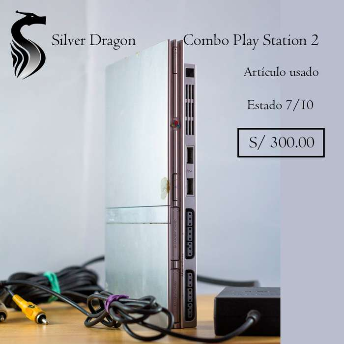 Combo Play Station 2