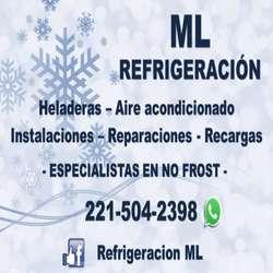 Reparación, arreglos de HELADERAS y AIRE ACONDICIONADO TODOS LOS DÍAS Pagá en cuotas!