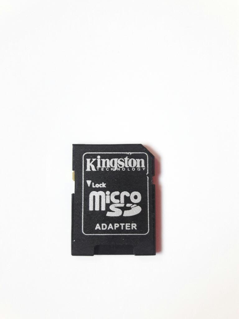 Adaptador Sd Micro Sd Kingston Portatil