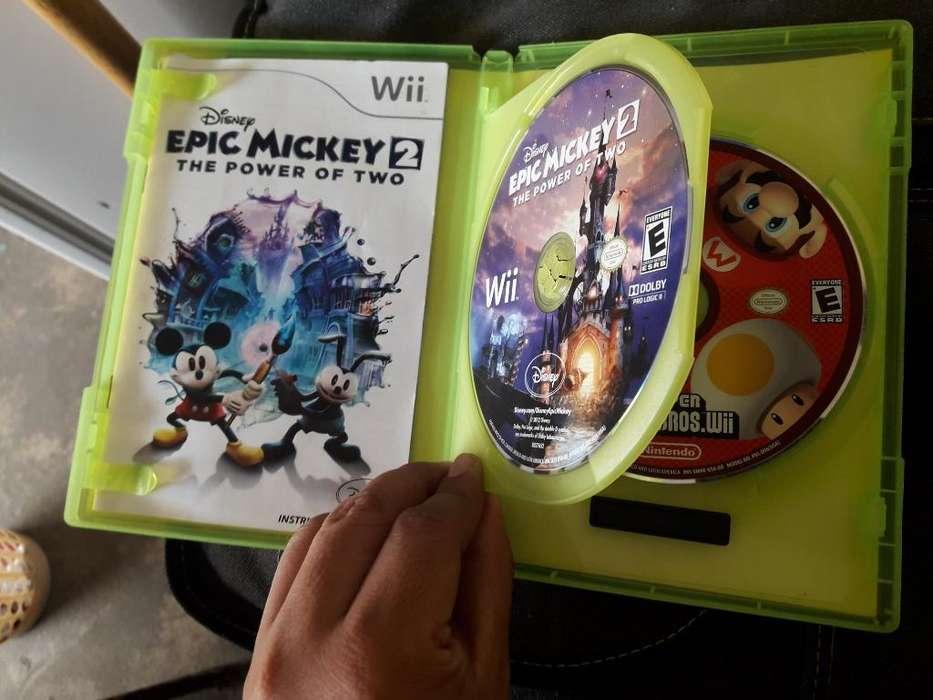 Epic Mickey Super Mario Originales Wii