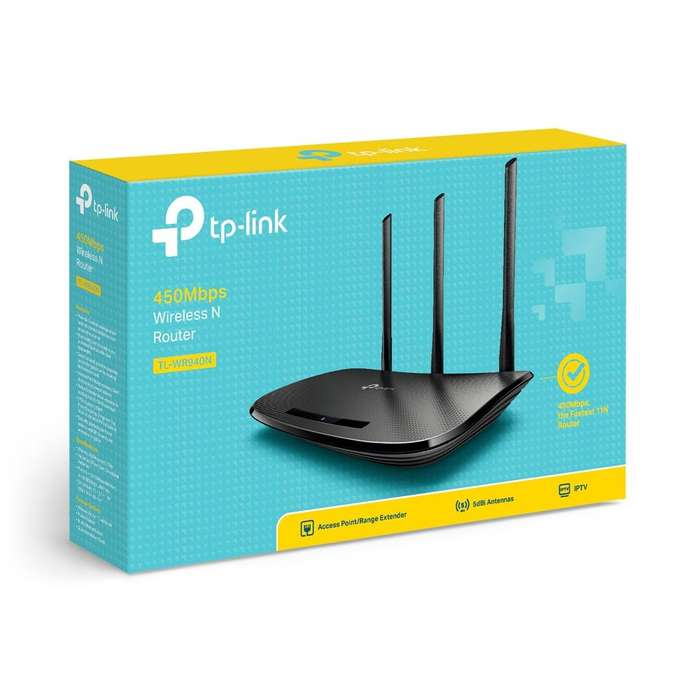 Router inalámbrico N 450Mbps TL-WR940N