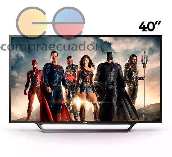 Sony Televisión led 40 Pulgadas Full Hd SmartTv Wifi Netflix