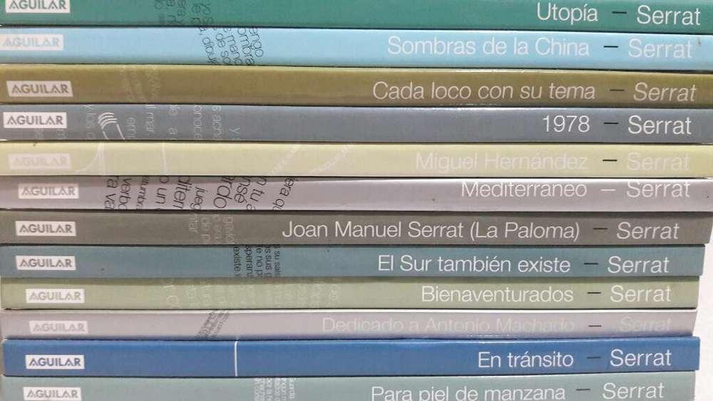 Libros Y Cd Serrat