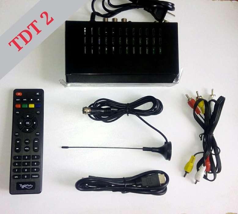 Decodificador Tdt T2 Full Imagen