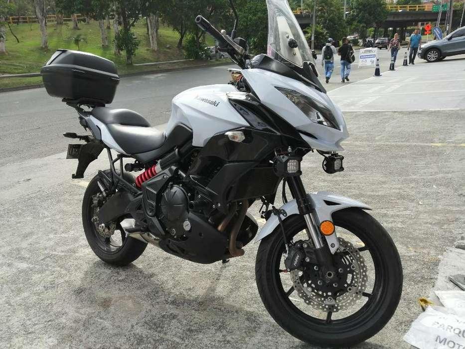 Kawasaki Versys 650 2015 Como <strong>nueva</strong>