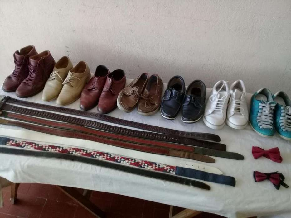 Usados:calzados,<strong>cinto</strong>s,moños Y Tiradores
