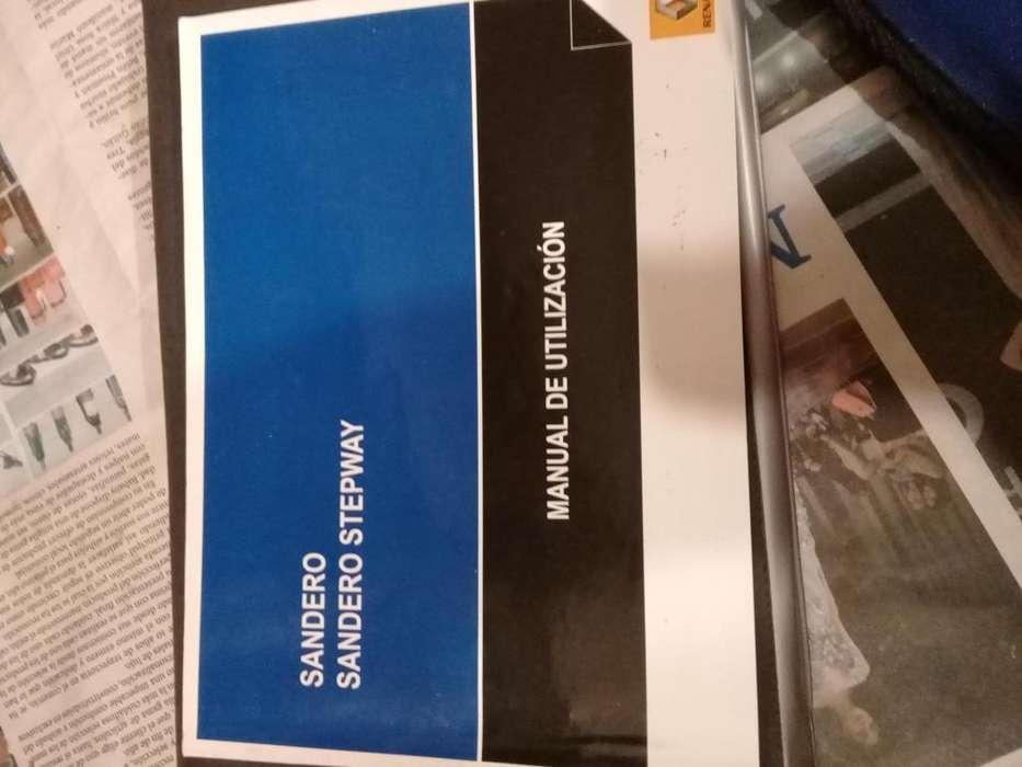 Manual Sandero Stepway/ Sandero