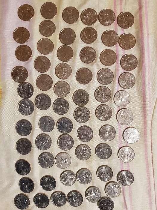 Monedas de Colección de 25 Centavos
