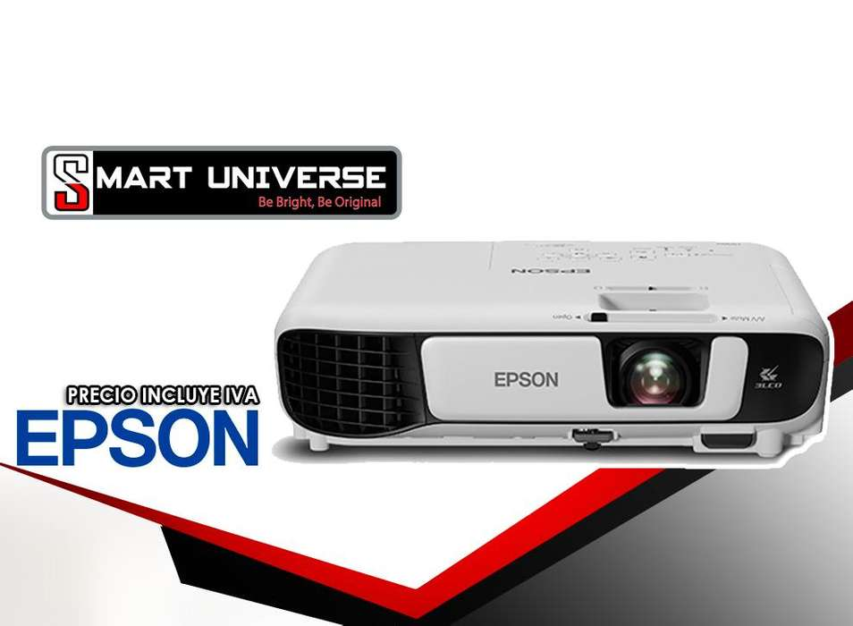 <strong>proyector</strong> Epson Power Lite S41 Plus 3300 Lúmenes Nuevo S41
