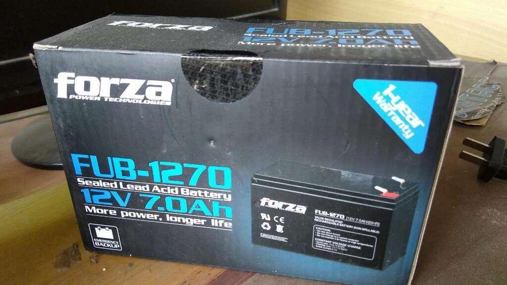 Batería 7 Amperios Marca Forza