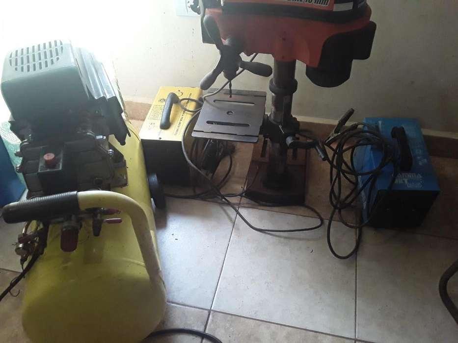 Compresor,taladro Y Maquinas de Soldar