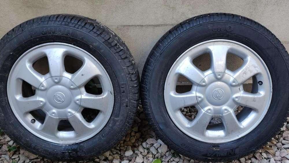 <strong>llanta</strong> Completa 7 Rayos Chevrolet Classic R14 185/60/14