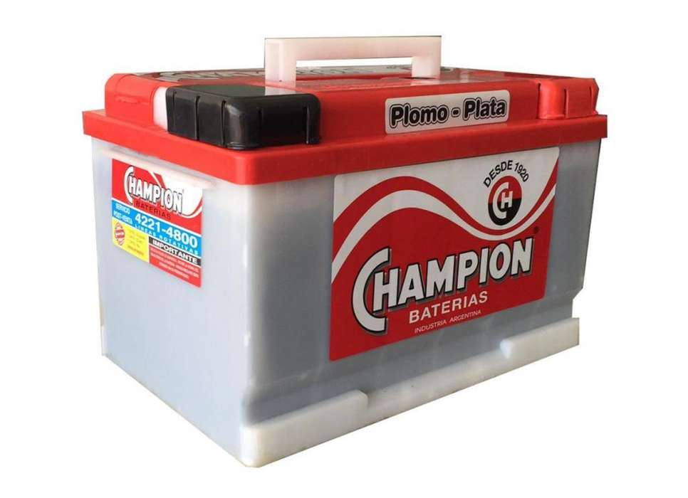 <strong>bateria</strong> Champion 12x75 Quilmes