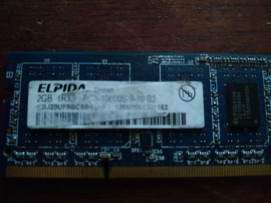 Memoria Ram para Portatil 2 Gb