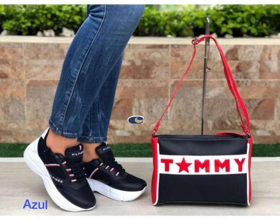 Tenis Y Bolsos Tommy