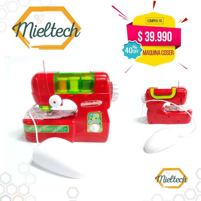Mini maquina de coser portatil de juguete Sewing Machine infantil niñas