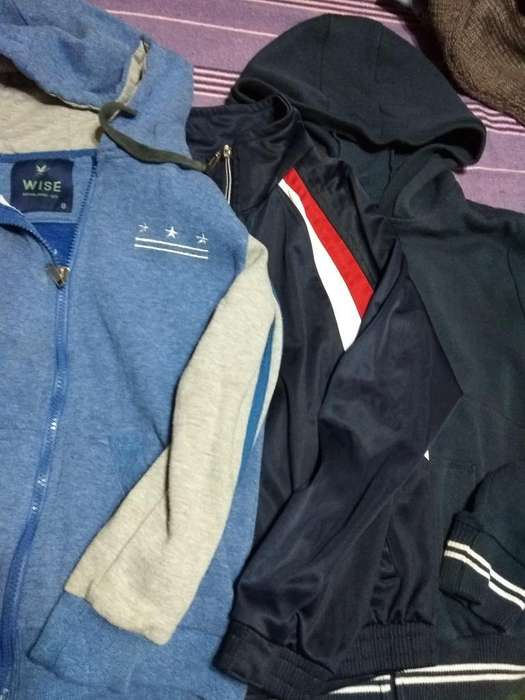 Lote Niño Talle 8 Jeans Chalecos Campera