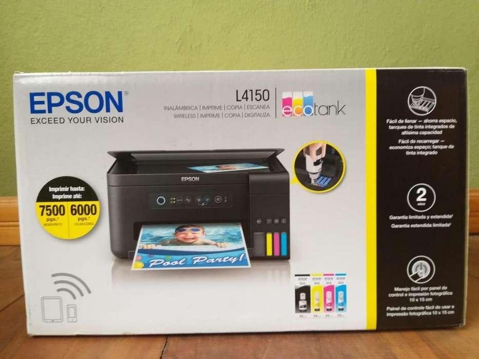 Vendo <strong>impresora</strong> Epson L4150 Nueva