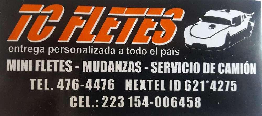 Fletes, Minifletes, Mudanzas