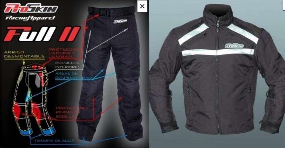 Campera Y Pantalon para Moto