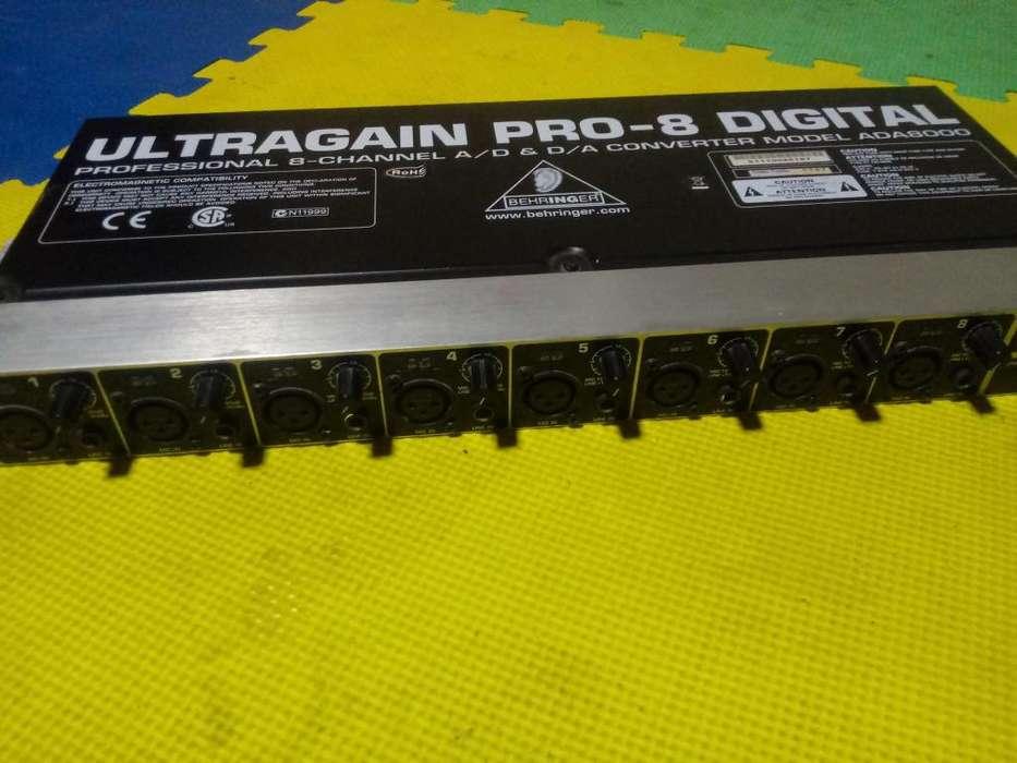 ULTRAGAIN PRO 8 DIGITAL MODEL ADA8000
