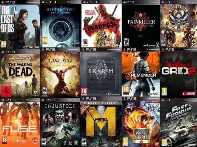 JUEGOS VARIOS/VENDO DE PLAY1 ,PLAY2 ,PLAY3 ,PLAY4 ,XBOX360 ,WII Y PC DESDE 40 Berazategui