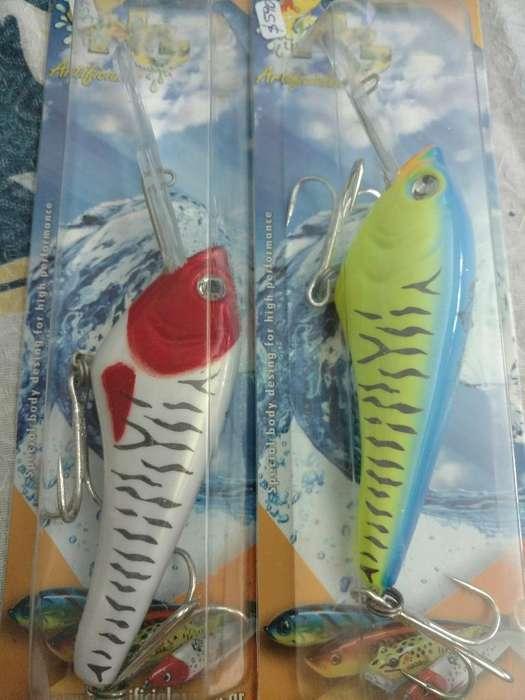 Señuelos Pesca Dorados