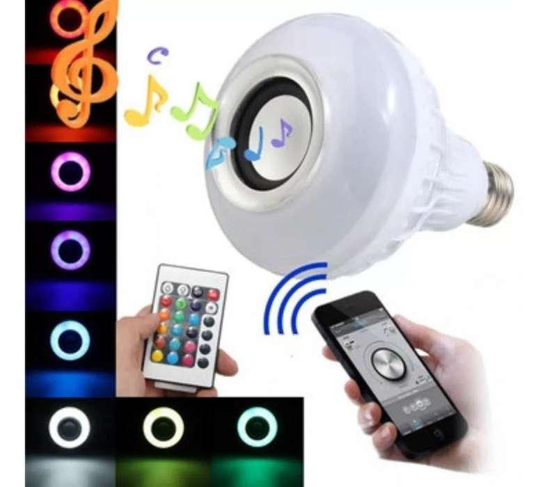 Bombillo Parlante Bluetooth -led Music Bullb / App
