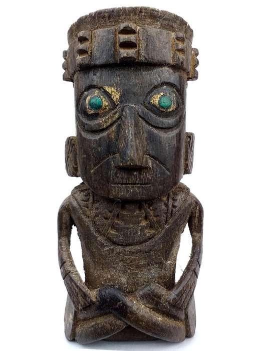 escultura chancay, replica, cholito , antigüedades