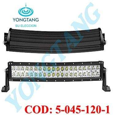 BARRA LED 120W CURVA PARA CARRO JEEP 4X4 YONGTANG