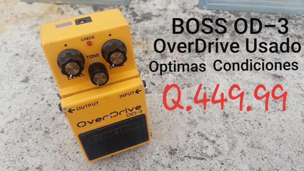 Over Drive Pedal Boss