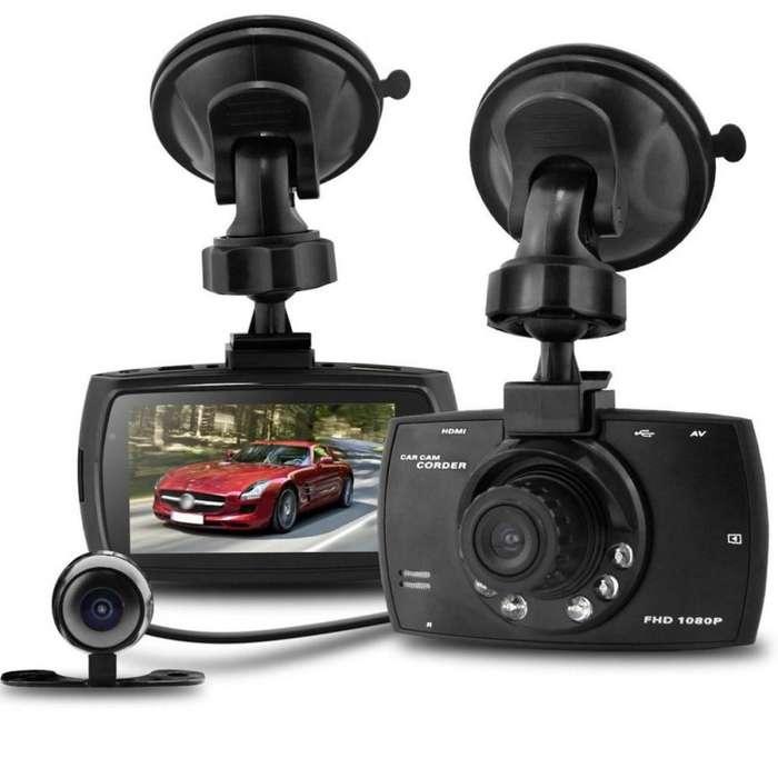 G30B Cámara Carro Dual Doble Lente V.noct S.movim 1080p FullHD Compacta