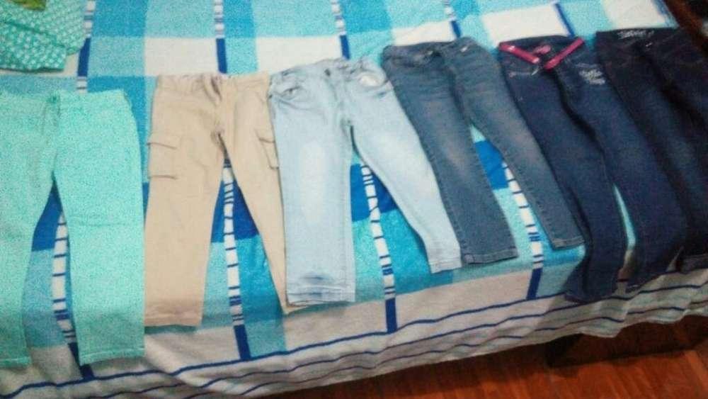 Pantalones para Niñas Talla 4