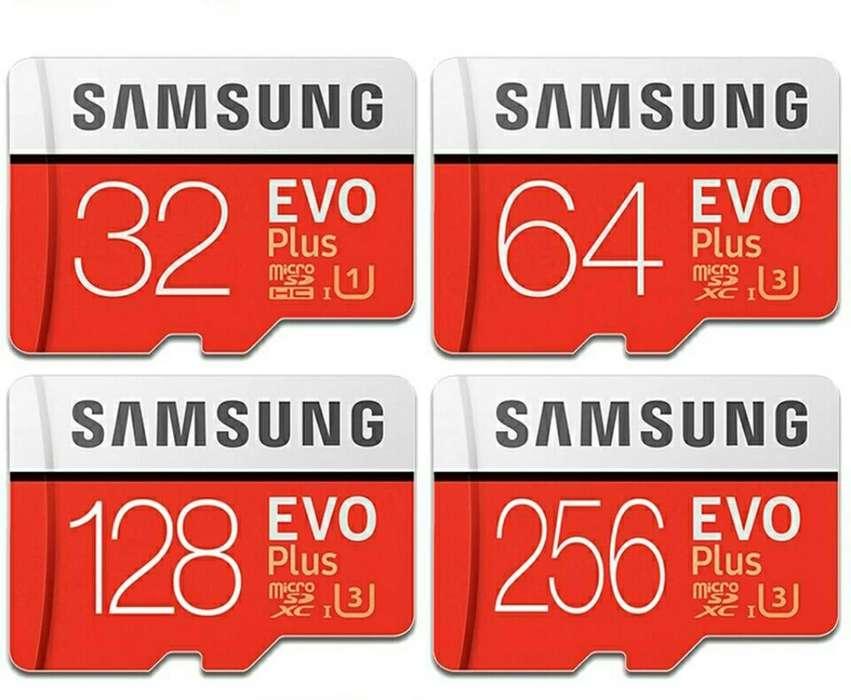 Samsung Memoria Sd 64gb Nuevo Clase 10