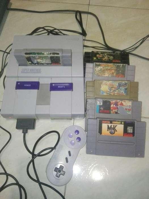 Super Nintendo , Vendo O Cambio .
