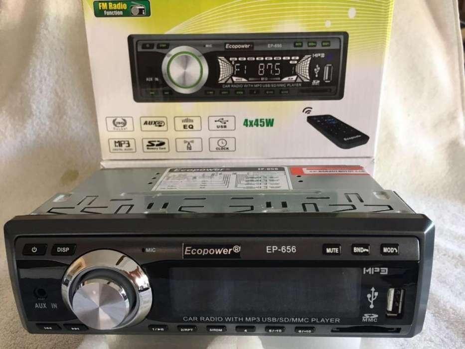 RADIO CAR ECOPOWER - BLUETOOTH - USB - SD - 1499