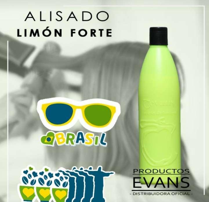 Alisado Evans Forte Limón