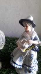 porcelana de pareja de holandes
