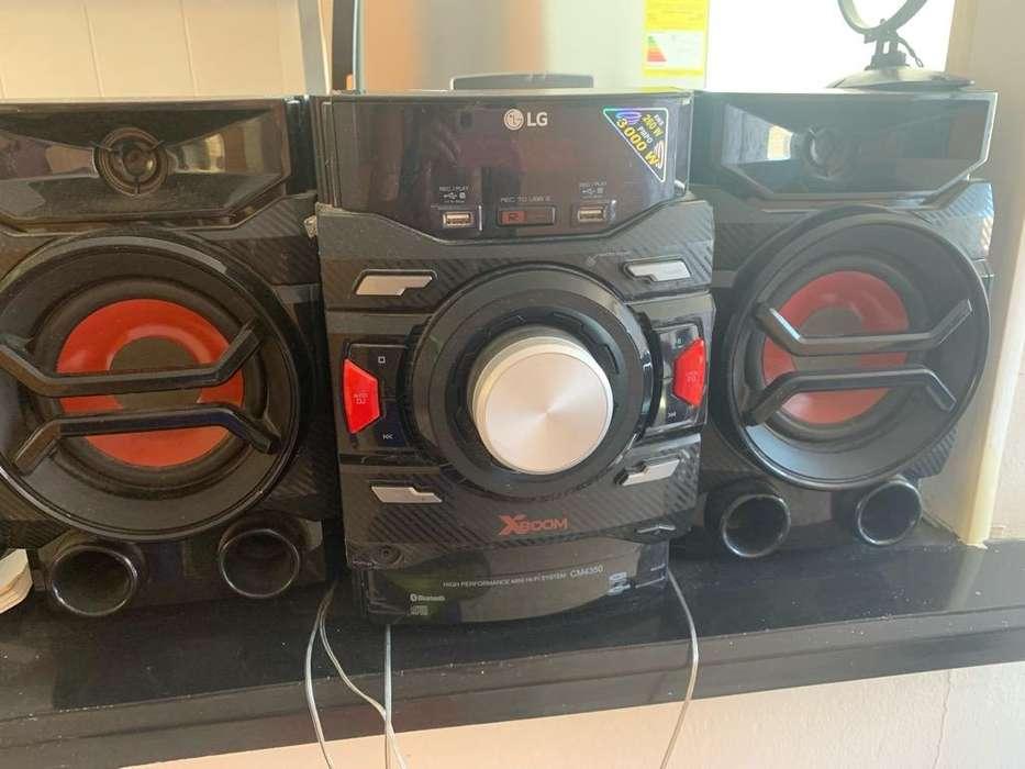 Vendo Equipo Lg con Bluetooth Cm4350