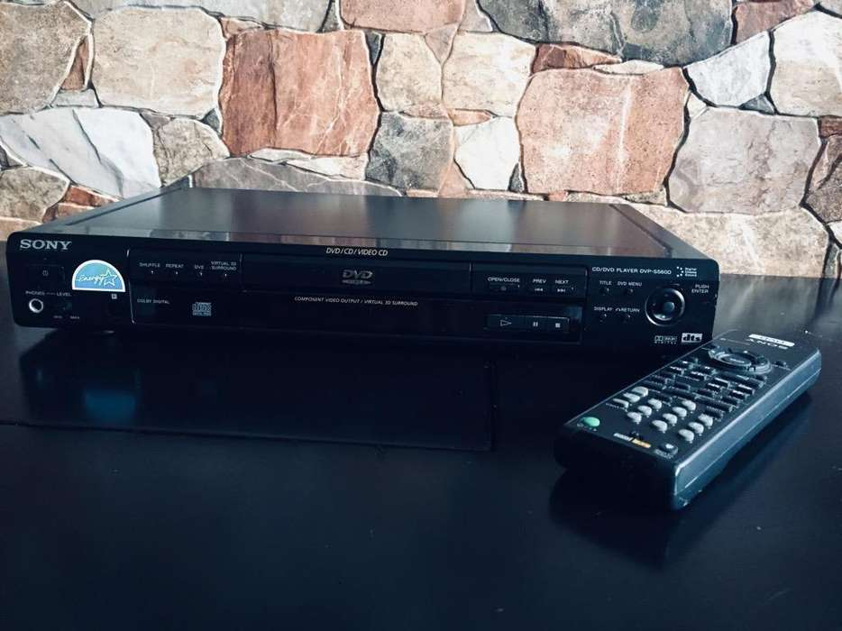 Sony DvpS560D Reproductor de Cd/Dvd con 3D Surround