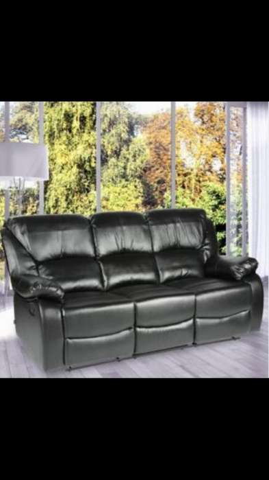 Sillon Reclinable 3 Puestos Imperix