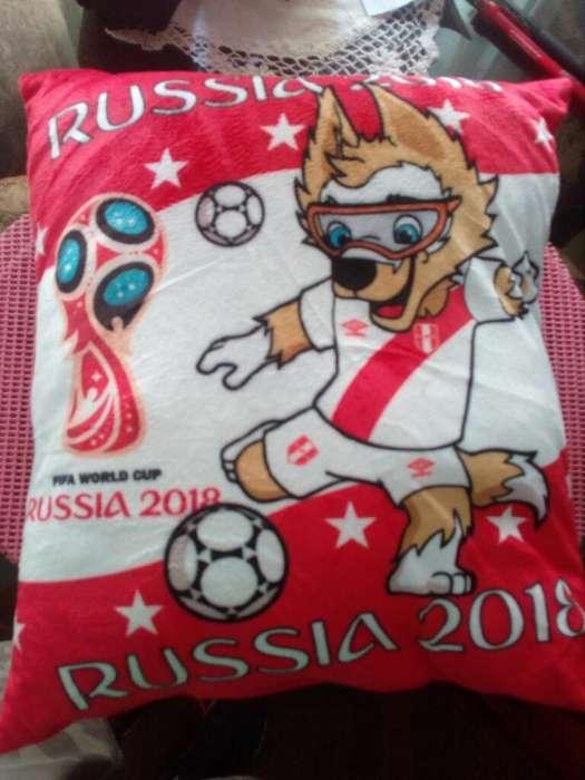 Russia 2018 Almohada Peru