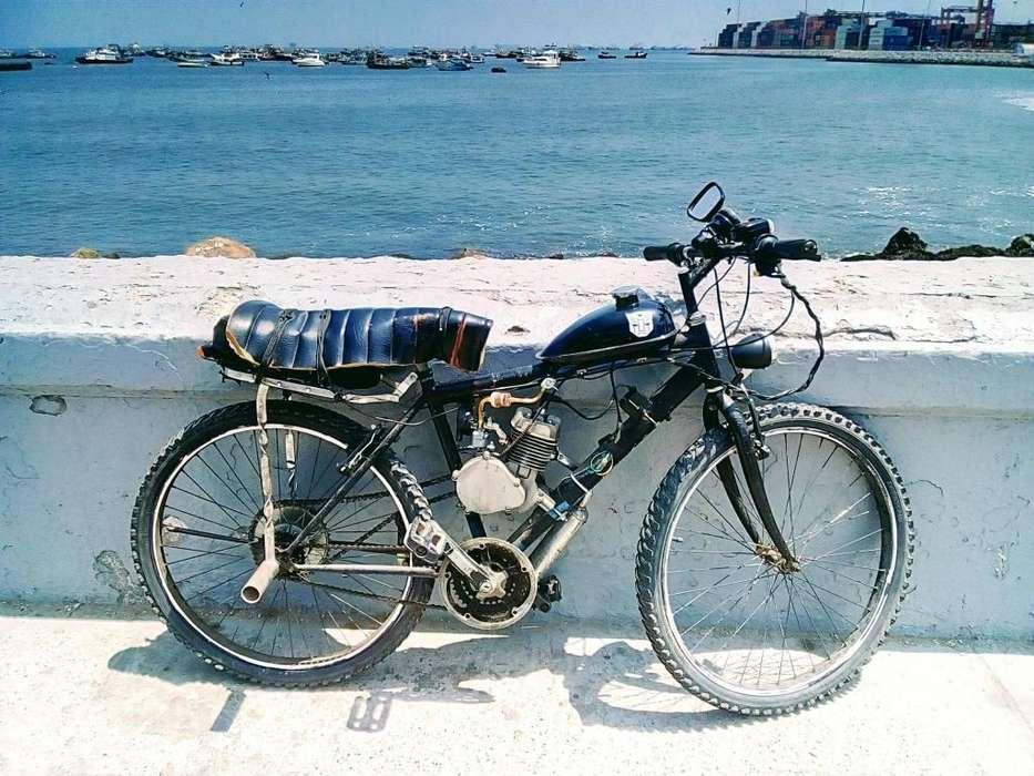 Bicimoto Montañera Aro 26 Motor 80cc