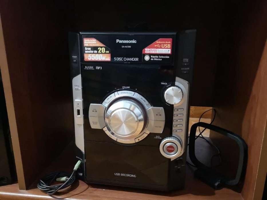 Vendo Equipo Panasonic Sa-ak580