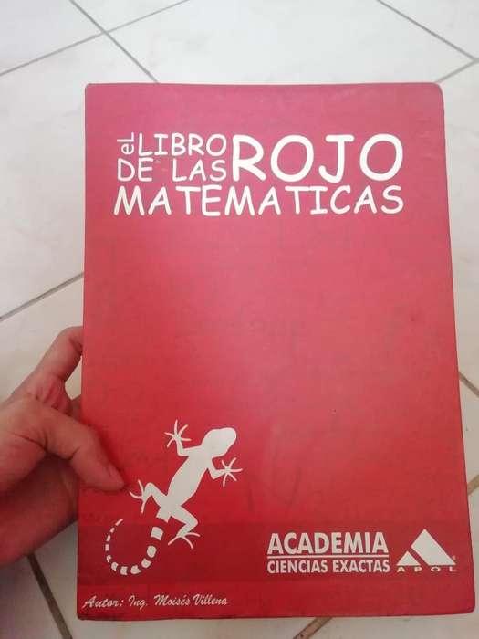 Libro Rojos de Las Matemáticas