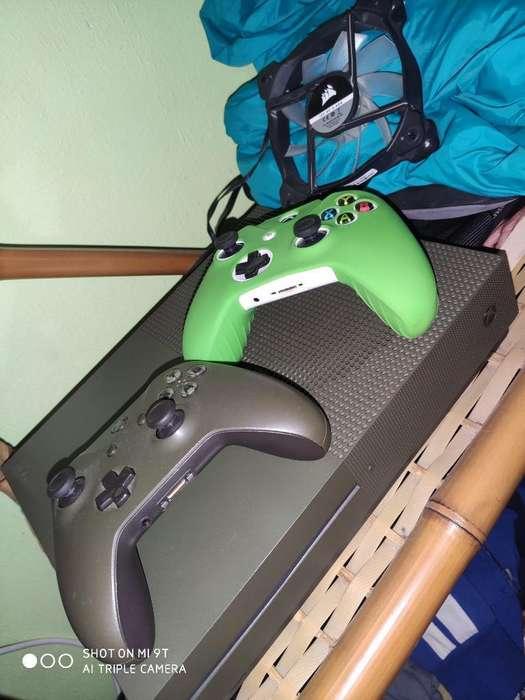 Xbox One 1tb con Juegos Poco Uso