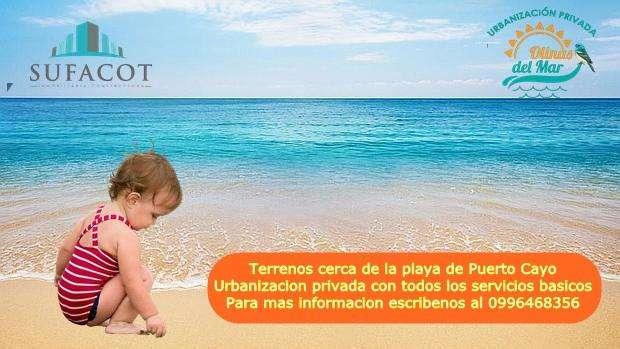 Terreno Urbanizado En Puerto Cayo! Entrada De 100 Y Cuotas Fijas Crédito Directo Sin Garante S2