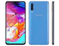Samsung Galaxy A70 128gb 6gb Rammicro Sd 32 Gb Regalo Nuevo con Garantia